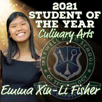 Emma Xiu-Li Fisher, Culinary Arts SOY