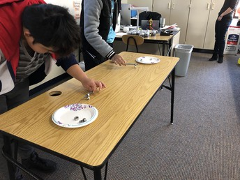 Students in Mrs. Perrizo's Intro to Coding class learn concepts through interactive games