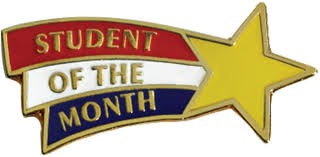 "September ""Students of the Month"""