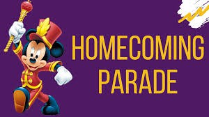 Schedule for Friday, Sept. 27th with Parade