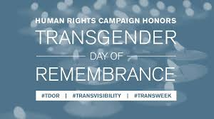 LGBTQ+ Alliance Transgender Day of Remembrance