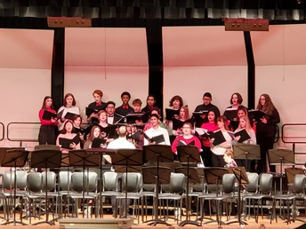 GHS Choir sounded phenomenal!
