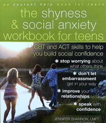 Shyness & Social Anxiety Workbook for Teens