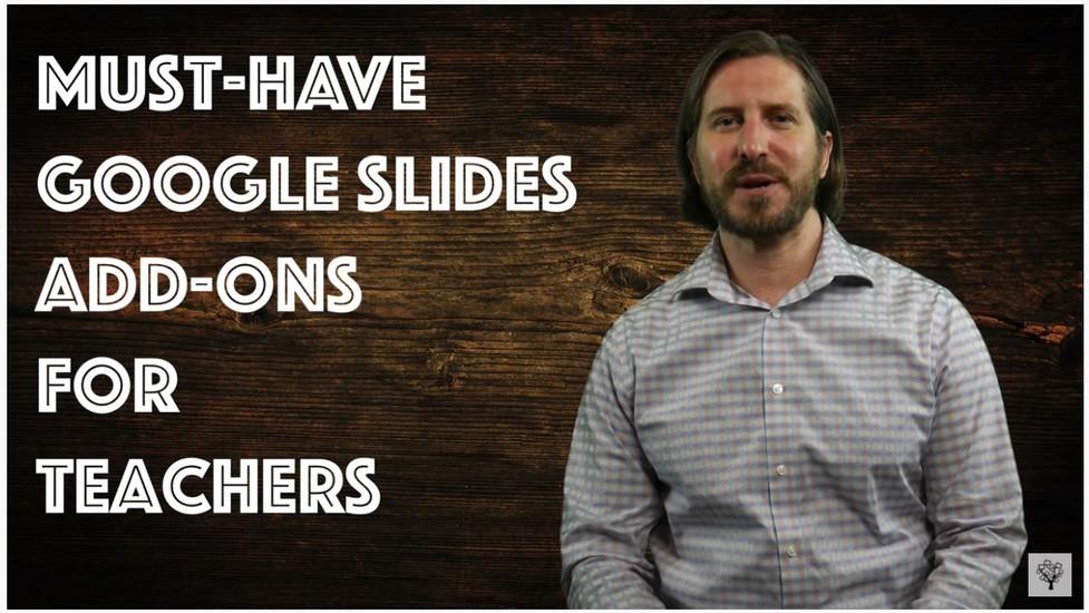 Google Slide Add-Ons Link