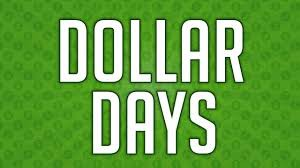 Dollar Days Donations