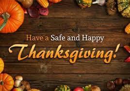 Thanksgiving Holiday Break - Student & Staff Holiday