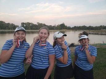 JV Golf Medals 4 In GAC Tournament