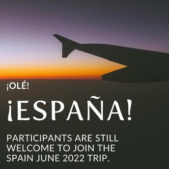 Spain Trip 2022!!