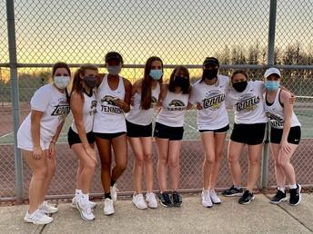 Girls Tennis finish the season 9-3!