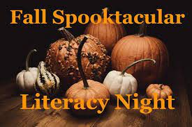 Virtual Fall-Themed Literacy Night: Friday, October 30th