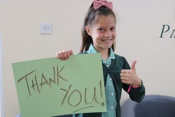 Sponsored Bounce and Cake stall by Eva Peel (School Lead Ambassador)