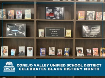 "CVUSD celebra ""National Black History Month"""