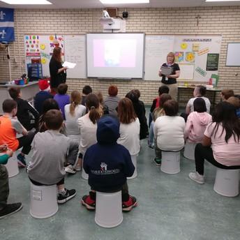 Grade 4 Fort Sask Library Presentation