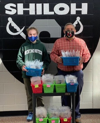 Mask Donation to Shiloh Elementary