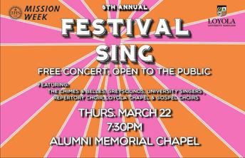 Festival Sing Concert