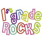 First Grade News!