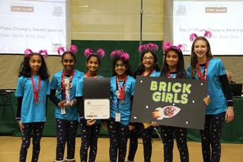 """Lego League """"Brick Girls"""""""