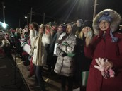 Gator Choir at Christmas on the River