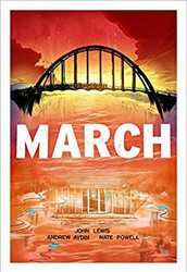 March Trilogy by John Lewis, Andrew Aydin and Nate Powell
