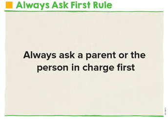 Always Ask First Rule