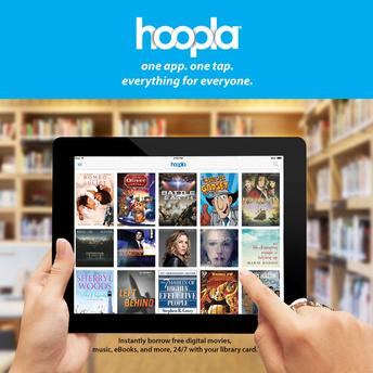 Hoopla eBooks and Audiobooks!