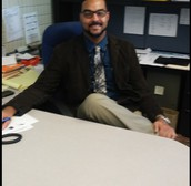 Welcome Interim Assistant Principal Mr. Martin