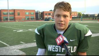 Riley Kid inspires Westfield football team, community