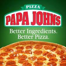 Papa John's Spirit Night Tomorrow!