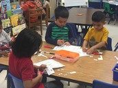 Mrs. Beckstein's Kindergarten Class Learning How to Work Well With Others