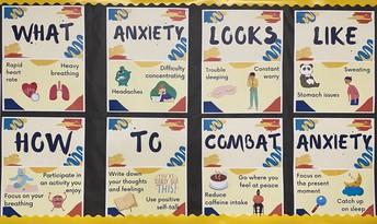 Anxiety bulletin board