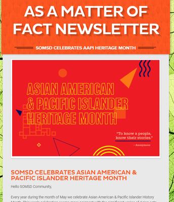 SOMSD Celebrates AAPI Heritage Month