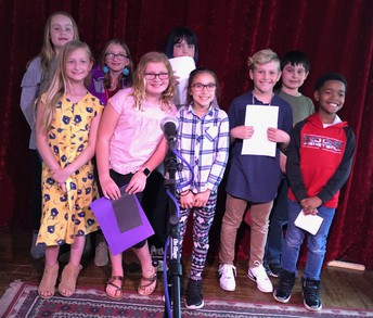 They went to a coffee house in Plymouth and read their poetry to a live audience.
