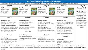 Reading: April 13-17