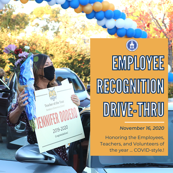 Employee Recognition Drive-Thru Event