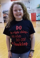 February's Student Spotlight is Amara Hanson at SES!