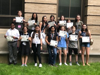 Pennsylania Junior Academy of Science Winners from Murray Avenue