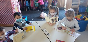 Starting our day with a book