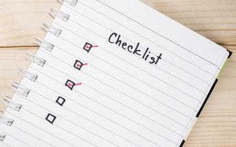Junior Spring & Summer Checklist