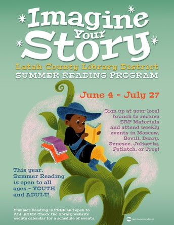 Summer Reading at the Moscow Public Library!