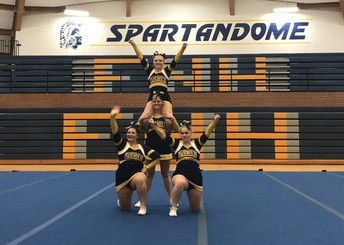 North Cheer Team Win State Stunt Competition