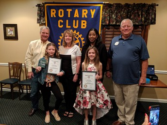 ROTARY STUDENT FOR THE MONTH OF NOVEMBER: BRAYLEE DUNCAN!!