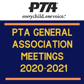 PTA General Association Meetings