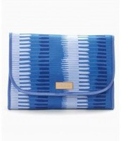 Hang On Travel Case - Indigo Stripes