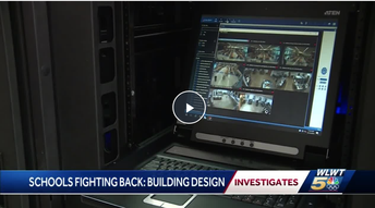 WLWT News Segment on Security Features of New School