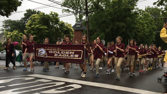 TOHICKON STUDENTS PUT ON A GREAT SHOW IN THE MEMORIAL DAY PARADE