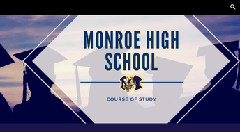 Monroe High School Launches New Course-of-Study Site