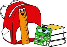 Casilleros, mochilas y útiles escolares