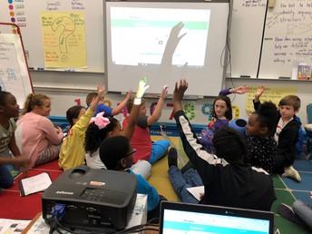 Classroom Highlight: Mrs. Walls's 3rd Grade Class