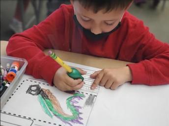 Writing in Kindergarten!!!