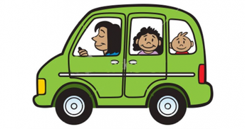 Students Who Arrive in a Vehicle